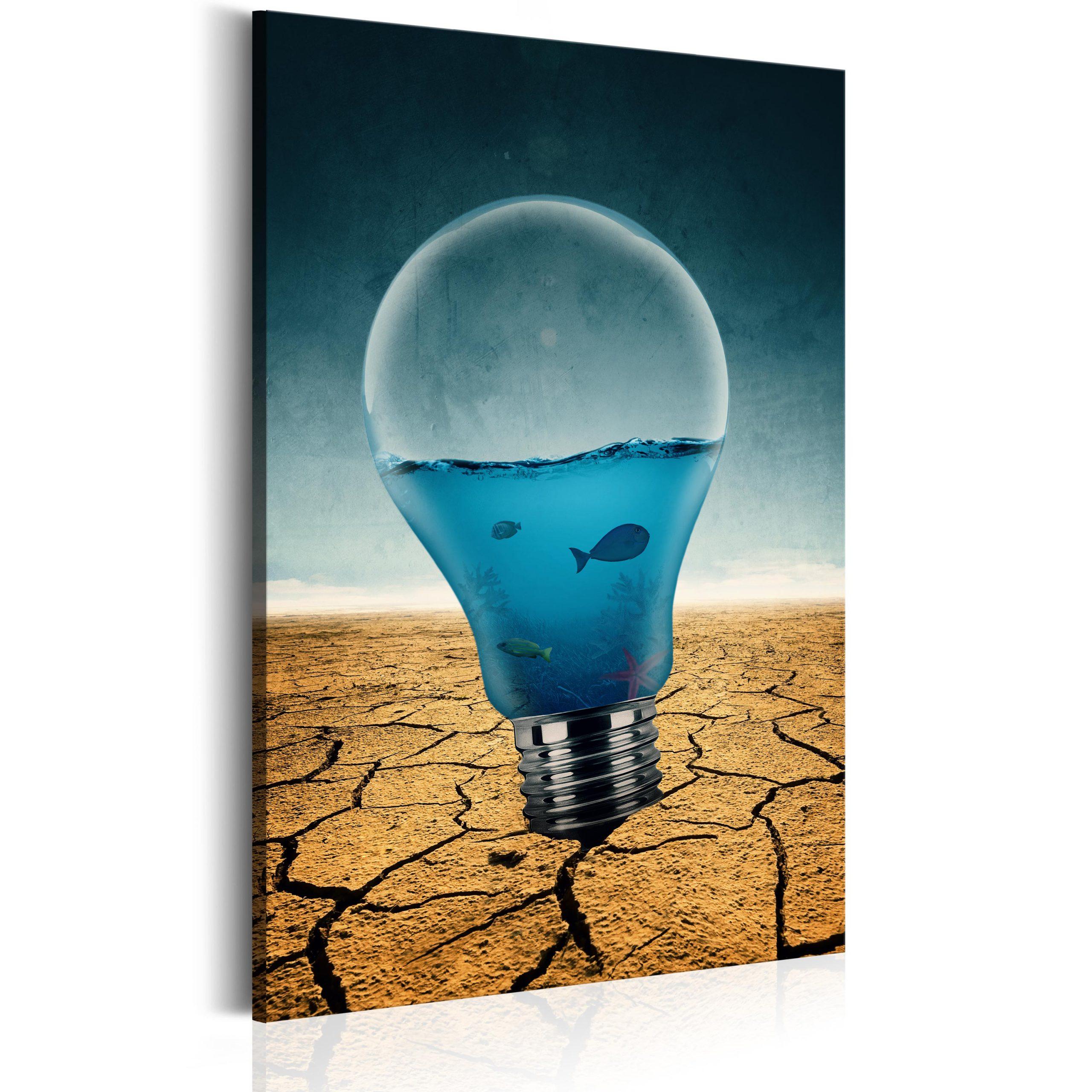 Schilderij Aquarium Of Ideas Abstracties Schilderijen